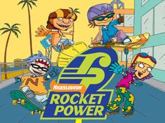 11 images (& sounds) of the Rocket Power cast of characters. Photos of the Rocket Power (Show) voice actors. Rocket Power, Childhood Tv Shows, 90s Childhood, My Childhood Memories, Famous Cartoons, Old Cartoons, Classic Cartoons, 90s Tv Shows Cartoons, Retro Cartoons