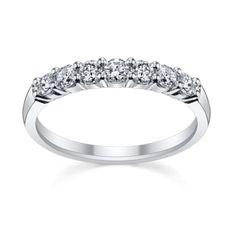 14K White Gold Diamond Wedding Ring 1/2 ct tw  The ring!!!!