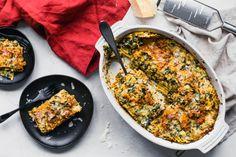 Recipe of the Day: Pesto & Artichoke Spinach Lasagna Save the recipe Artichoke Recipes, Spinach Recipes, Artichoke Spinach, Vegetable Recipes, Vegetarian Recipes, Vegetarian Entrees, Healthy Recipes, Vegan Meals, Healthy Eats