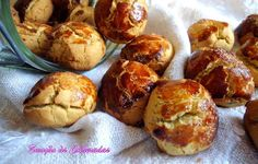 Portuguese Recipes, Portuguese Food, Pretzel Bites, Crackers, Baked Potato, Muffin, Food And Drink, Yummy Food, Healthy Recipes