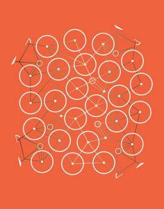 2011 Poster Cabaret Bike Print Set Giveaway @Brent Couchman