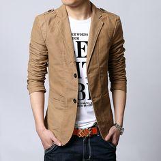 2014 Autumn New Men Blazer Fashion Slim casual blazer for Men Brand Mens suit Designer jacket outerwear men 3 colors M~XXXXXL