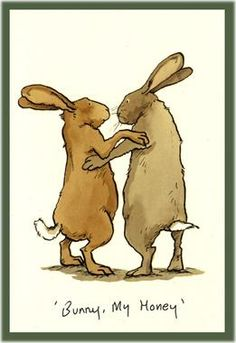 Bunny, loving you