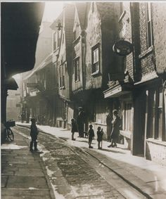 8 historic photographs of York's Shambles   York Press Old Pictures, Old Photos, York Shambles, York England, Open Staircase, Oral History, Through The Window, North Yorkshire, 14th Century