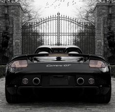 Super rare, super sexy #Porsche Carrera GT convertible. Click for more... #spon