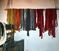 Learn how to make natural dyes from plants.