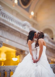 Lesbian Wedding Scene in LGBT tv series in Rainbow Pride💍💍👭🎬🎬🎬📽📽👭👭👭🎥📽🎬🎬 Lesbian Wedding Photos, Cute Lesbian Couples, Lgbt Wedding, Wedding Pics, Lesbian Love, Dream Wedding, Wedding Dresses, Wedding Scene, Budget Wedding
