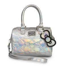 Hello Kitty Silver Mini Duffle Embossed Bag - Hello Kitty - Brands  Needless to say, I covet this hard-core