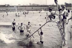 middelzeelaan zwembad  t   nijlan 1966 Historisch Centrum Leeuwarden - Beeldbank Leeuwarden
