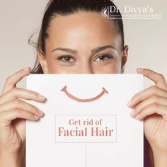 Facial Hair in women could be a sign of conditions such as Polycystic Ovary Syndrome. In addition to treating the underlying condition, unwanted facial hair can be permanently removed using laser technique. #FacialHair #Removal