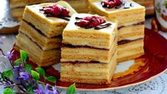 Food Cakes, Sponge Cake, Cheesecakes, Gingerbread, Cake Recipes, Waffles, Sweet Tooth, Good Food, Food And Drink