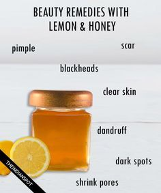 10 best beauty treatments with Lemon and honey