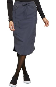 "Women's 30"" Drawstring Scrub Skirt"
