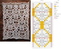 Hibernate : a free lace pattern by gannetdesigns.com