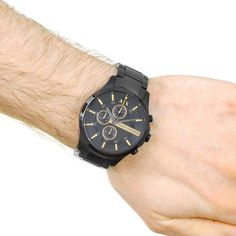 Armani Exchange Men's Hampton Chronograph Watch
