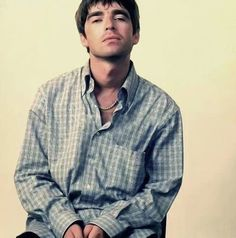 Oasis from a feature in SKY Magazine. I always thought Noel looked so beautiful in these pictures. Shirt again!