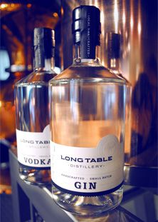 Long Table Distillery is the first of three new distilleries (making gin, whiskey and vodka) to open in Vancouver in 2013.
