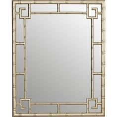 Silver Leaf Resin Wall Mirror is part of Silver Home Accessories Mirror - The Heath wall mirror from this collection features an intricately molded frame finished in a true silver leaf Round Wall Mirror, Beveled Mirror, Beveled Glass, Blue Powder Rooms, Silver Home Accessories, Hollywood Regency Decor, White Master Bathroom, Mirrors Wayfair, Wood