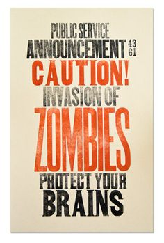 This will be my Oct. library bulletin board. Add the word READ underneath the saying, book jackets, and zombie Range USA targets.  FUN!