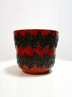 Vintage Bay Keramik West Germany Fat Lava Ceramic by WestEstShop