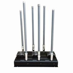 High Power Signal Jammer Cell Phone UHF VHF 315 LoJack 6 Bands