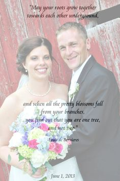 Custom Word Art Print With Photograph Wedding by OutofThisWord