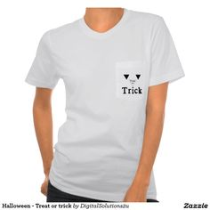 Halloween - Treat or trick Tee Shirt