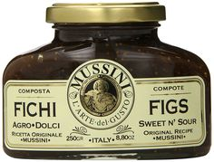 Mussini Figs and Balsamic Vinegar Compote, 8.8 Ounces, Single Pack >>> Trust me, this is great! Click the image. : Fresh Groceries