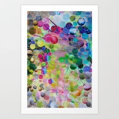 Circles Art Print by John Turck  - $18.00