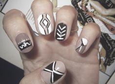 nails... #ItsAllAboutAfricanFashion #AfricanPrints #AfricanStyle #AfricanInspired #StyleAfrica #AfricanBeauty