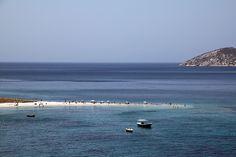 Saint Pauls beach in Amorgos