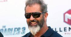 Mel Gibson ducktail beard