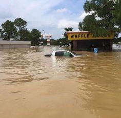 Louisiana Flooding, Livingston, Mississippi, Denham Springs, United States, Weather, Storms, World, Marines