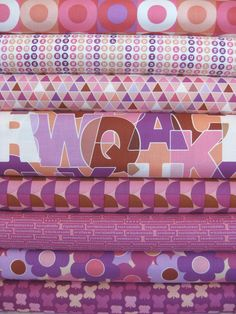 Thomas Knauer, Thesaurus, Pink in FAT QUARTERS 8 Total