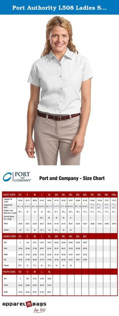 Port Authority L508 Ladies Short Sleeve Easy Care Shirt - White/Light Stone - Large. This comfortable wash-and-wear shirt is indispensable for the workday. Wrinkle resistance makes this shirt a cut above the competition so you and your staff can be too. 4.5-ounce 55/45 cotton/poly Traditional relaxed look Open collar Dyed-to-match buttons Classic Navy and Light Stone have contrast inside neckband only. - Style L508.