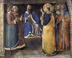 Fra Angelico, Dispute before Sanhedrin, Cappella Niccolina, Palazzi Pontifici, Vatican