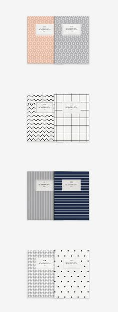 Scandinavia Notebook Set