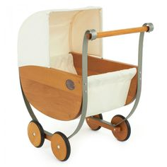 Moulin Roty Wooden & Metal Pram Toy