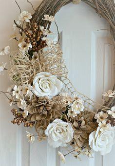 TIMEWASHED: My First Wreath of the Season!