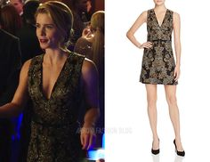 "Felicity wears alice + olivia in 5x09 ""What We Leave Behind"""