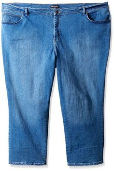 56524b0195fab Lee Womens PlusSize Relaxed Fit Straight Leg Jean Authentic Azul 16W Medium   gt  gt