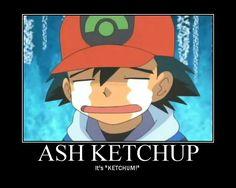 It's Ash Ketchum