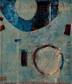 "For the Greater Good, by Anne Moore, monotype, 16""X 14"""