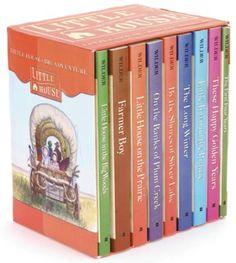 Little House on the Prairie, 9 Vols., slipcased