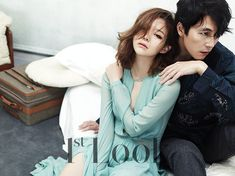 Jung Woo Sung and Lee Som - 1st Look Magazine Vol.76