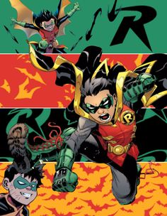 — renaroo: Robin, Son of Batman Damian Wayne ...