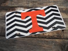 University of Tennessee Vols License Plate Free Shipping on Etsy, $15.50