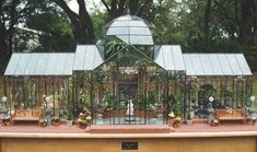 Lady Jane - stained glass dollhouses, greenhouses and terrariums