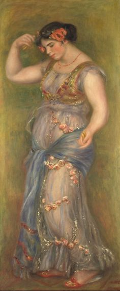Dancing Girl with Castanets (1909). Pierre-Auguste Renoir (French, 1841-1919).