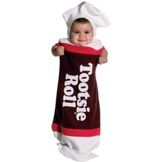 Tootsie Roll Bunting Infant Halloween Costume - Walmart.com